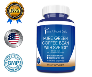 Pure Green Coffee Bean with Svetol - Lose A Pound Daily