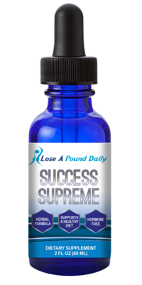 Success Drops Supreme Hormone Free (Herbal Blend) - Lose A Pound Daily