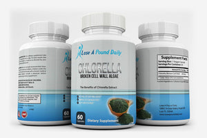 Chlorella Pure, 600mg - Lose A Pound Daily