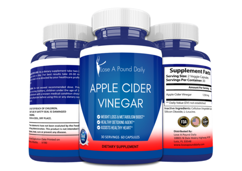 Apple Cider Vinegar and FREE Keto Diet eBook - Lose A Pound Daily