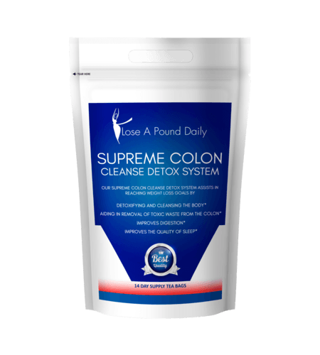 Supreme Colon Cleanse Caffeine Free Detox System - Lose A Pound Daily