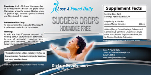 Success Drops- Hormone Free