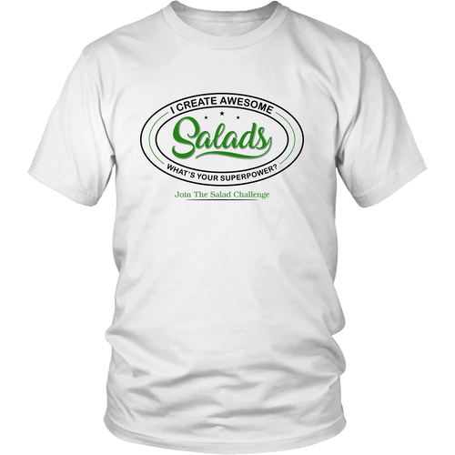 I Create Salads Crew Shirt