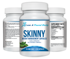 Skinny Weight Management Capsules for Diabetics - Lose A Pound Daily