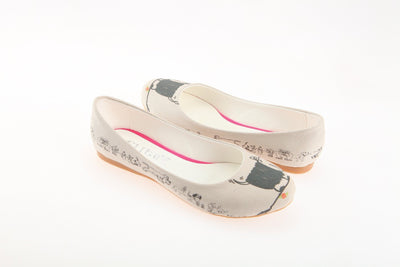 "Goby women's Shoe """"Puppy Dog"" Ballet Flat 1114 Shoes GOBY2 - Pimpos Australia"