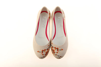 "Goby women's Shoe ""Cherry Blossom"" Ballet Flat 1141 Shoes GOBY2 - Pimpos Australia"