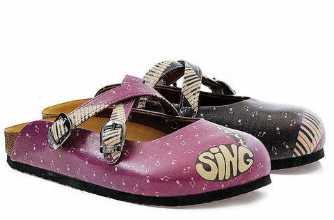 """Music Girl Slip-On Sneaker"" with Memory Foam Shoes"