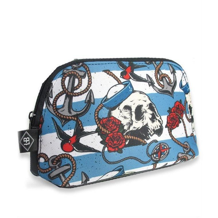 Nautical Skull Multi Use Bag Bags Liquorbrand - Pimpos Australia