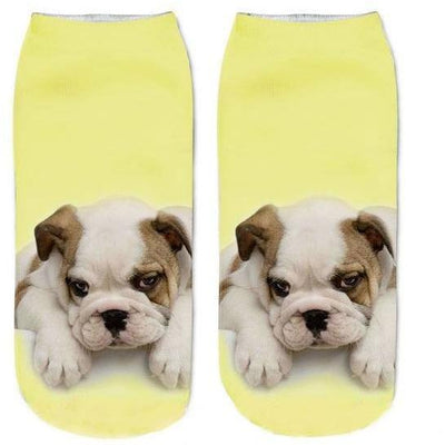 Puppies Cute Little Socks Women Socks Pimpos Australia - Pimpos Australia