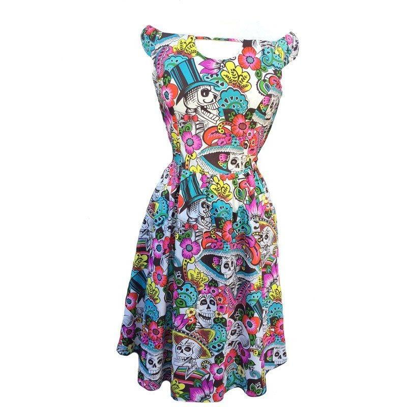 Arrive In Skull Dress Clothing Folter - Pimpos Australia