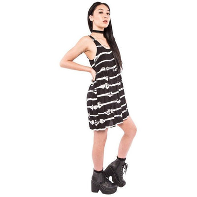 Bone Me Dress Clothing Iron Fist - Pimpos Australia