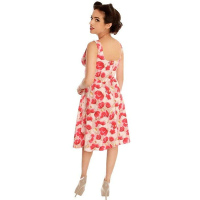 Floral Sweetheart Dress Clothing Retrolicious - Pimpos Australia