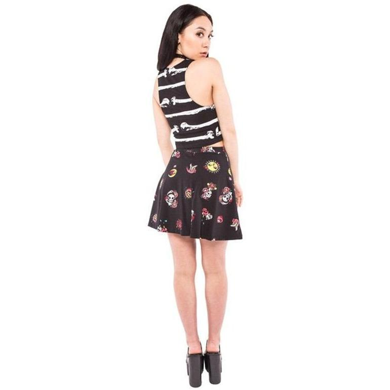 Clothing - Mexican Moon Skater Skirt
