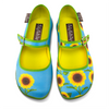 Chocolaticas® Sunflower Women's Mary Jane Flat - Presale