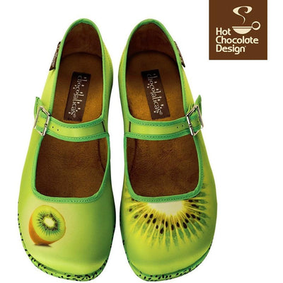 Kiwi Hot Chocolate Design Flats Shoes Hot Chocolate Design - Pimpos Australia