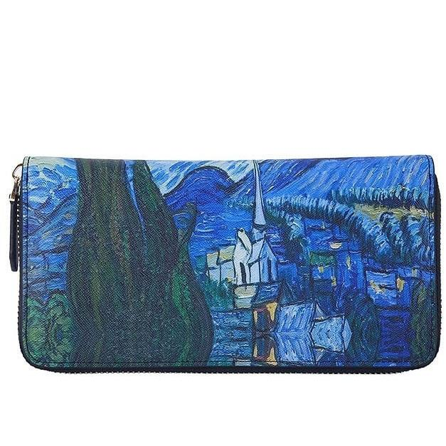 """A Destination"" Art Wallet Clutch"