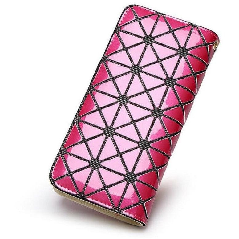 """Metal Geometry"" Women Wallet Women Accessories Pimpos Australia - Pimpos Australia"
