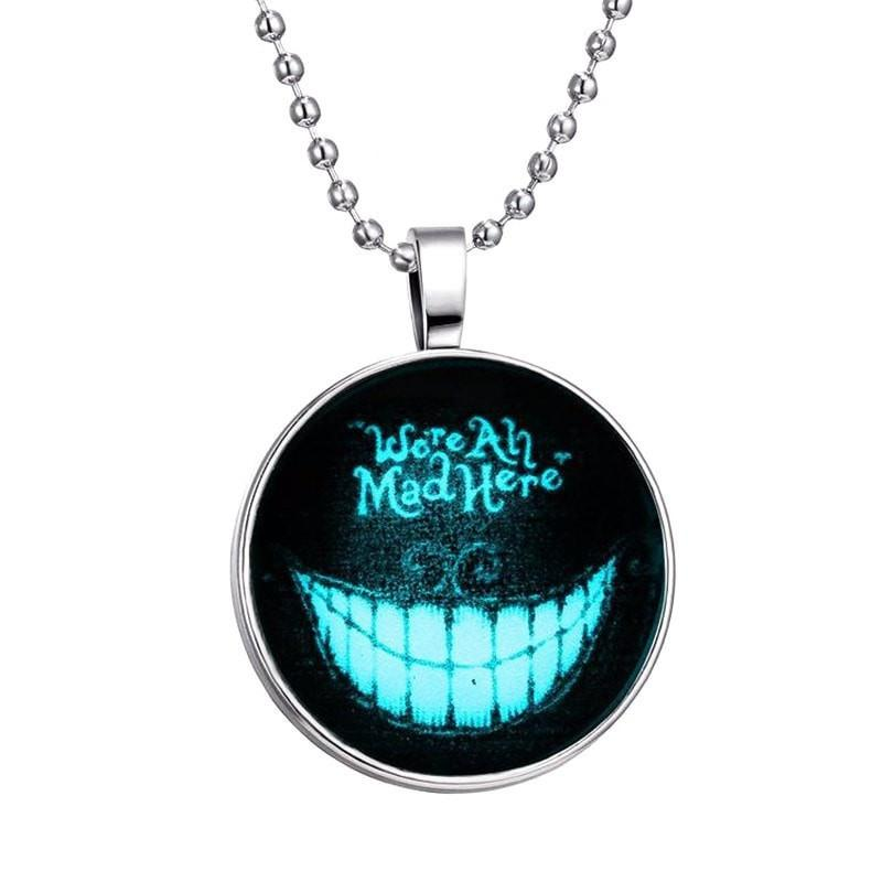 Glass Halloween Glowing Necklace