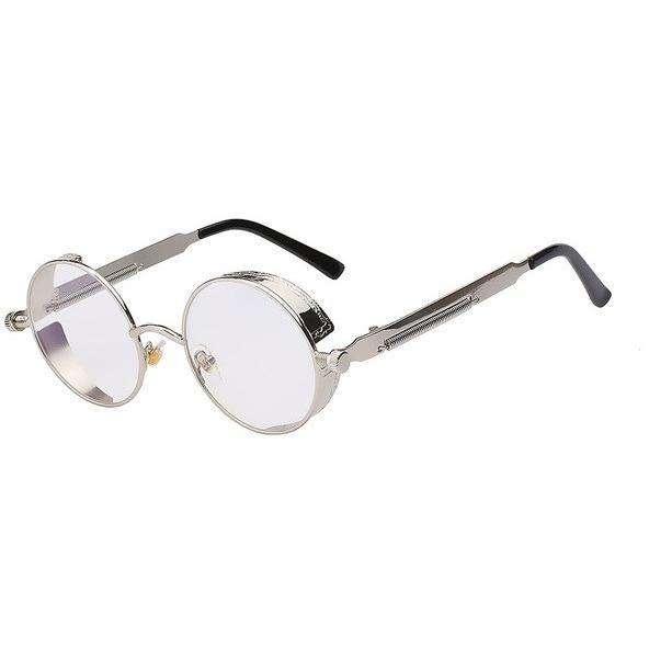 Steampunk Round Metal Sunglasses Women Accessories Pimpos Australia - Pimpos Australia