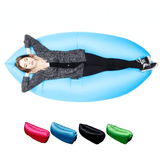 Inflatable Hammock Sofa - Air Bed - Black