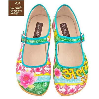 Shanti Flats Shoes Hot Chocolate Design - Pimpos Australia