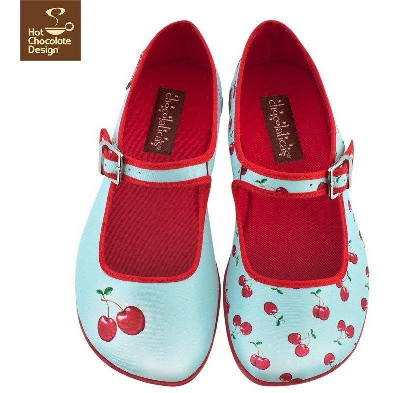 Shoes - Cherry Flats