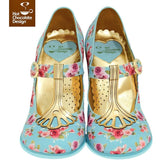 Emma Heels Shoes Hot Chocolate Design - Pimpos Australia
