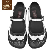 Habana Flats Shoes Hot Chocolate Design - Pimpos Australia