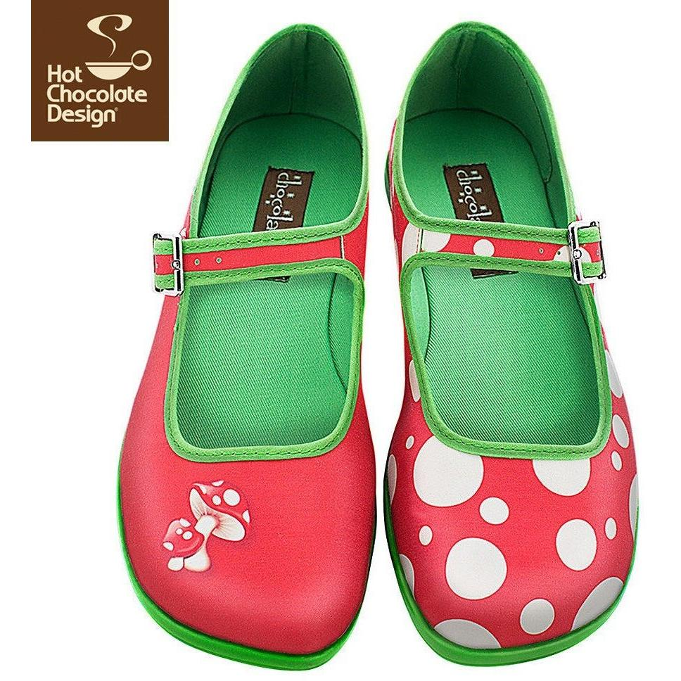 Moosh Flats Shoes Hot Chocolate Design - Pimpos Australia