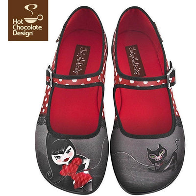Petunia Flats Shoes Hot Chocolate Design - Pimpos Australia