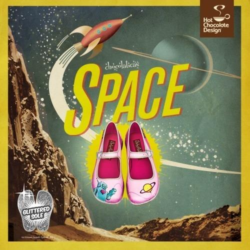 Shoes - Space Flats