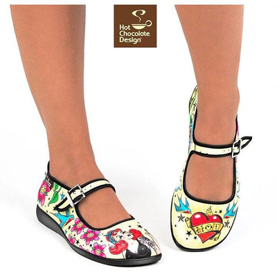 Shoes - Tattoo Flats