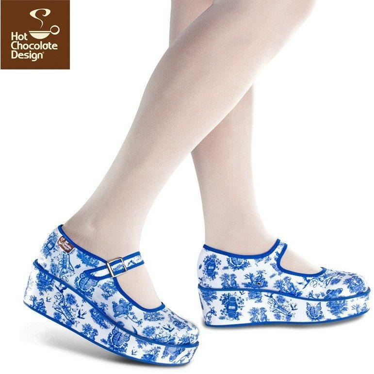 Shoes - Toiles De Jouy Platforms