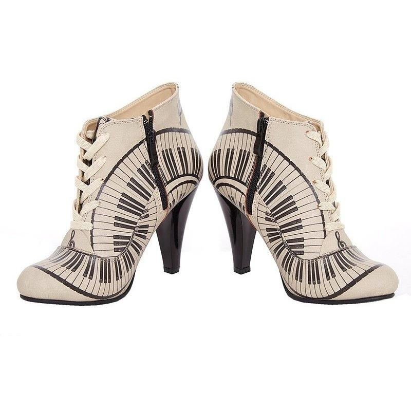 Women Shoes - Taupe When Words Fail Bootie