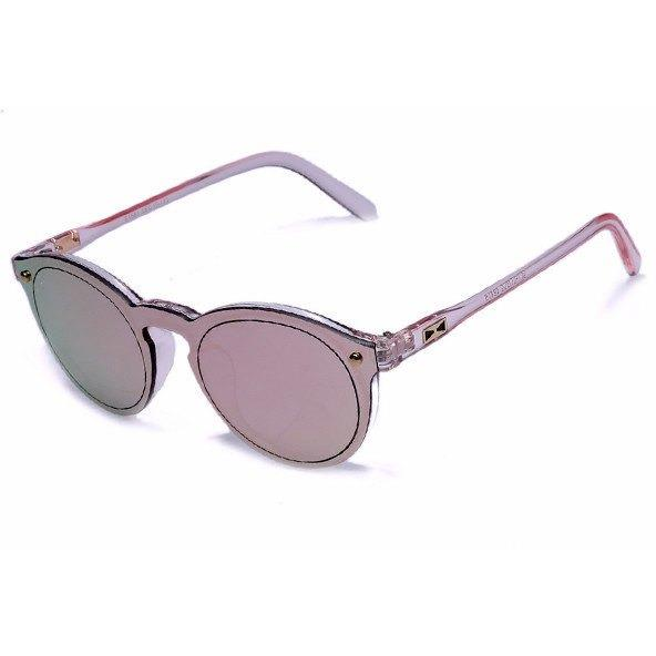 Women Sunglasses - Oval Fashion Retro Reflective Mirror Sunglasses