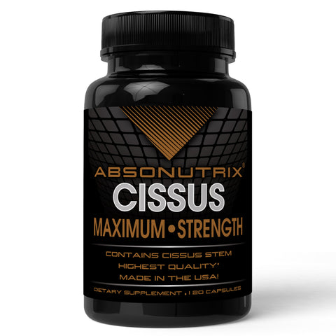 Absonutrix Cissus Xtreme 120 caps 1600 mg per serving helps manage body and muscle pain Made in USA
