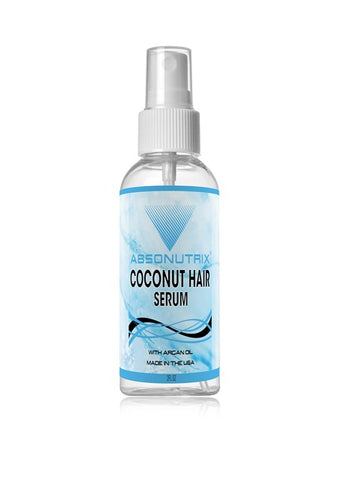 Absonutrix Coconut Hair Serum With Argan oil Made in USA
