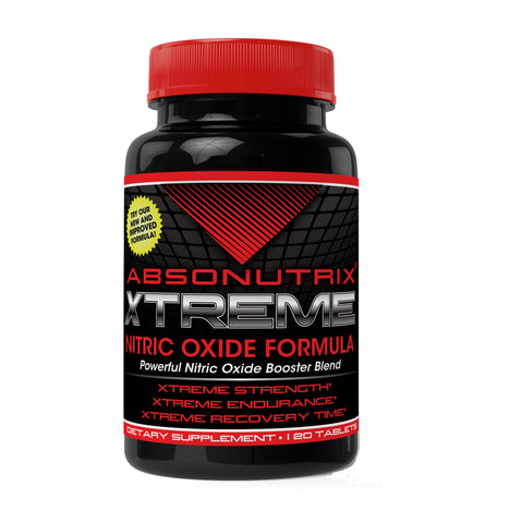 Absonutrix L-ARGININE Nitric Oxide 3000mg Power Formula 120 Tablets helps build muscles