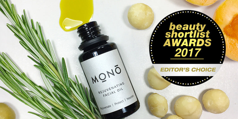 Our Rejuvenating Facial Oil wins a prestigious international beauty award