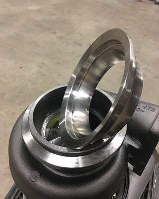 S475 S480 T6 Downpipe Flange Stainless stepped 5