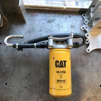 11-16 Duramax Cat or Donaldson single filter conversion/relocation