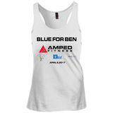 Blue for Ben Racerback Tank Top
