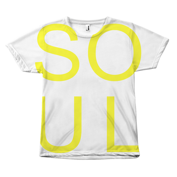 100% Polyester SOUL Tee for Men and Women SOUL t-shirt - Extra Soft SOUL TShirt