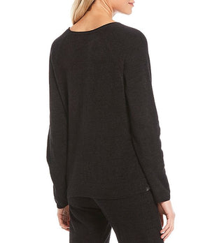 Barefoot Dreams CozyChic Ultra Lite Rolled Neck Lounge Pullover Top