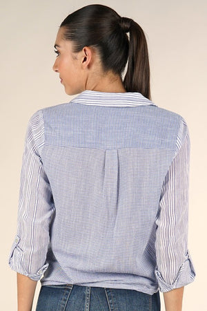 Our Famous Tie Front Blouse