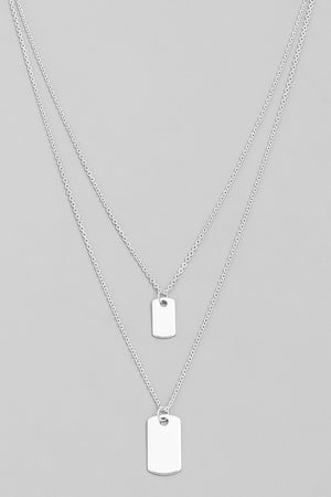 Dog Tag Designer Necklace
