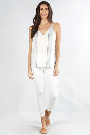 Dessi Tie Back Swing Top