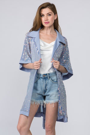Sequin Show Stopper Blazer/Dress