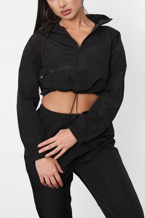 Black 2 Piece Track Suit