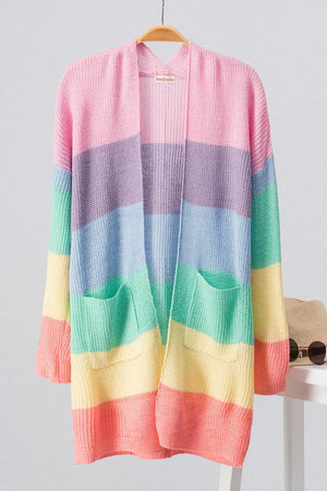 Rainbow Colour Block Sweater